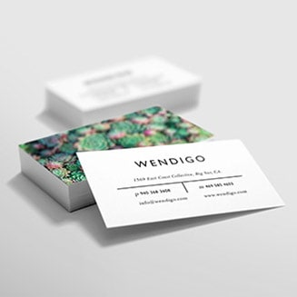 Make a business card that's as unique as your company, and give your customers a good impression. Choose from hundreds of attention-grabbing and quality templates or upload your own. Square, rounded corner, ultra-thick, pearly, metallic; select a shape, paper and finish to reflect your personality!