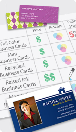 Compare Business Cards