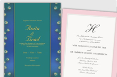 New Wedding Invitations
