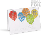 Foil Birthday Cards