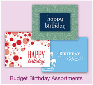 Birthday Budget Assortments