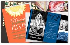various greeting cards