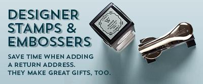 Designer Stamps & Embossers