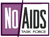 No AIDS Task Force logo