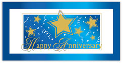Gold Star Anniversary Card