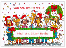 Count on us Holiday Card