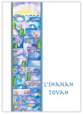 L'Shanah Tovah Cityscape