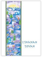L'Shanah Tovah Cityscape