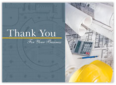 Architect Thank You Card