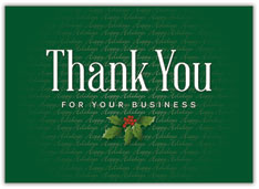 Business Thank You Holiday