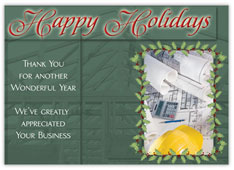 Contractor's Holiday Card
