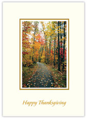 Colors of Autumn Thanksgiving Card