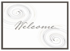 Swirls Welcome Value Card