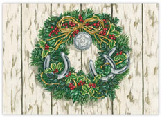 Holiday Western Wreath