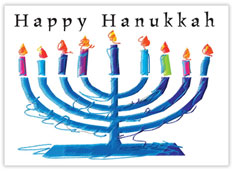 Hanukkah Menorah Blessings