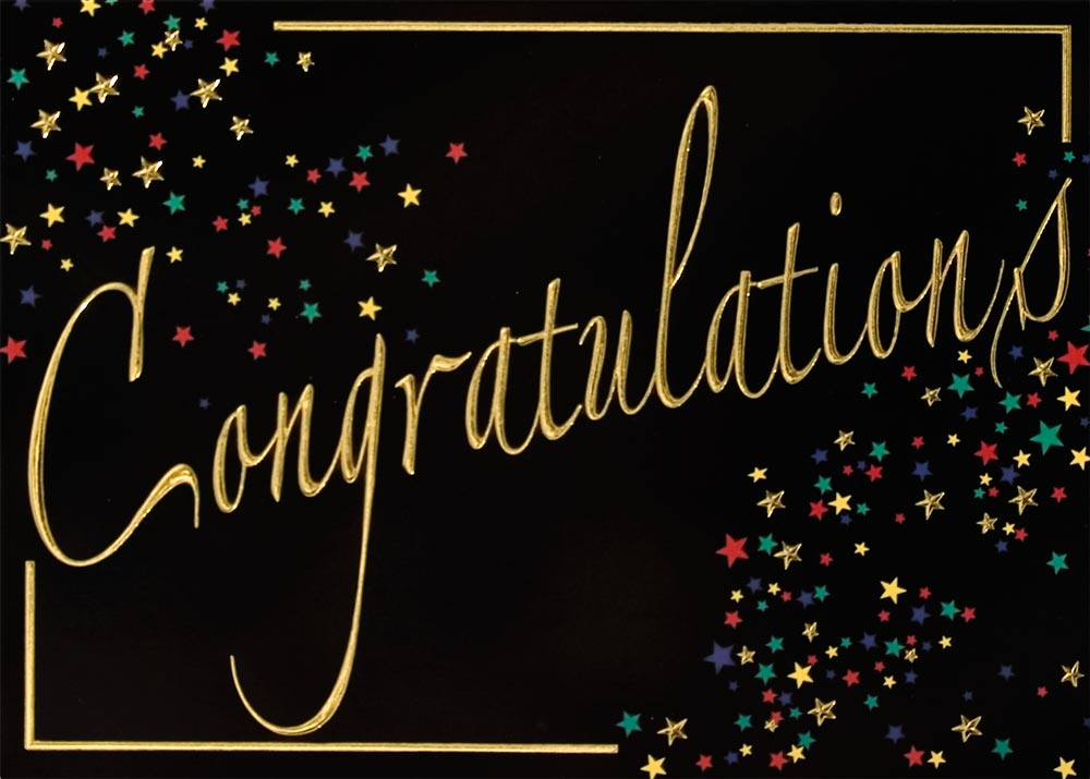 ... Cards > Congratulations Cards > Starburst Congratulations Card: cardsdirect.com/product/1307143/starburst-congratulations-card.aspx