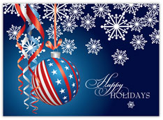 Patriotic Ornament Holidays