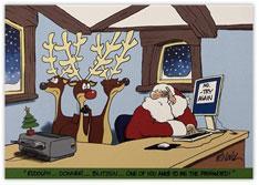 Stumped Santa