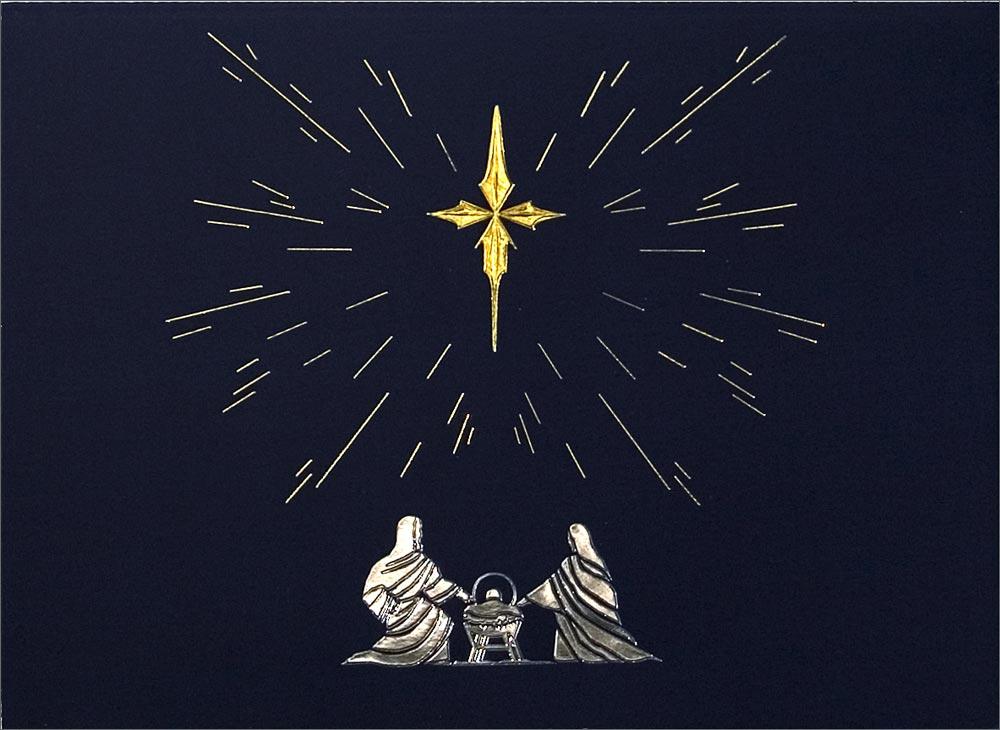 Christmas Manger Star Star of wonder - nativity from