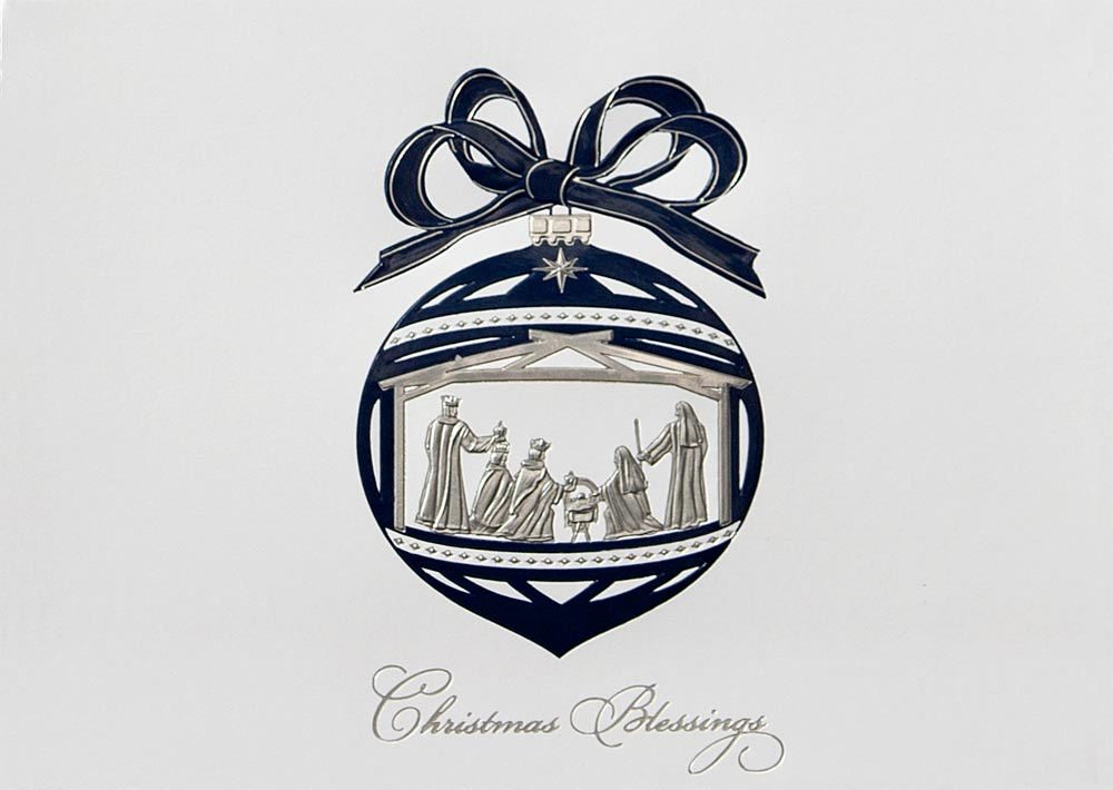 Christmas Blessings Ornament - Religious from CardsDirect