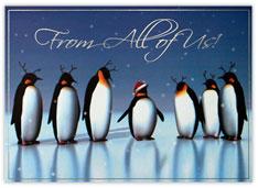 Antlered Penguins
