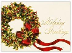 English Holly Wreath