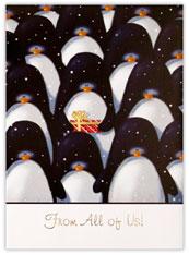 Snowy Penquins