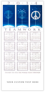 Teamwork Peace Calendar
