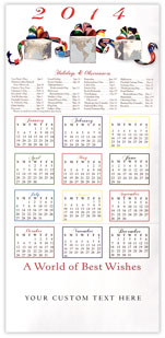 Worldly Gifts Calendar