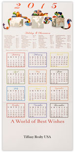 2015 World Gifts Calendar