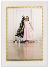 Gold Border Photo Holder