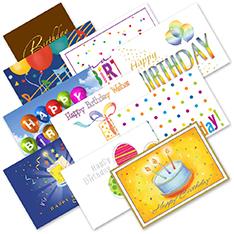 Birthday Postcard Assortment (500)