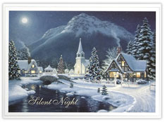 'Silent Night' Holiday Greeting
