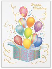Let's Celebrate Birthday Card