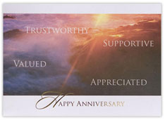 Inspirational Anniversary Card