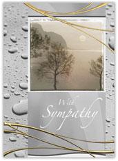 Serene Sympathy Card