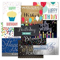 Birthday Wishes Assortment (100)