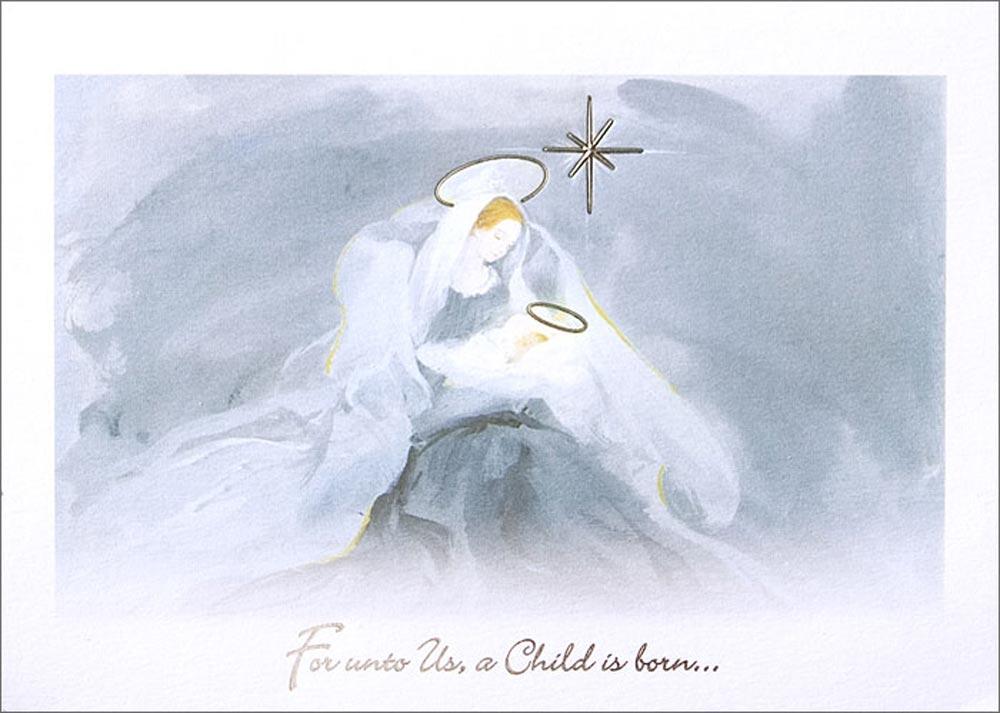 christmas card jesus c0570_z - Jesus Christmas Cards