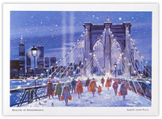 The Brooklyn Bridge Holiday
