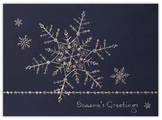 Elegant Snowflake Card