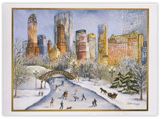Central Park Holiday Card