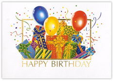 Birthday Bash Card