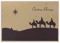 Wisemen Christmas Card
