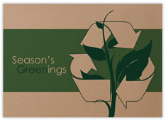 Recycle Symbol Greenings