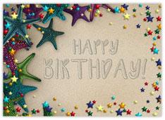 Beachy Birthday Wishes