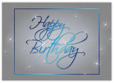 Blue Birthday Stardust