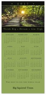 Nature Path Calendar Card