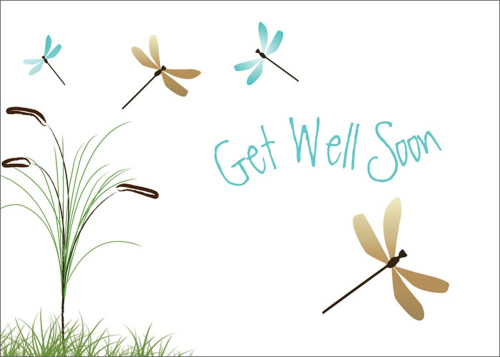 Home > Business Greeting Cards > Get Well Cards > Dragonflies Get Well: www.cardsdirect.com/product/1308538/dragonflies-get-well.aspx