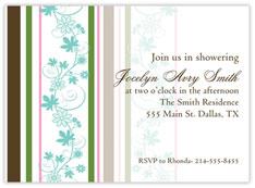 Floral Celebrate Invitation