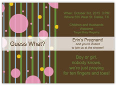 Guess What? Baby Shower